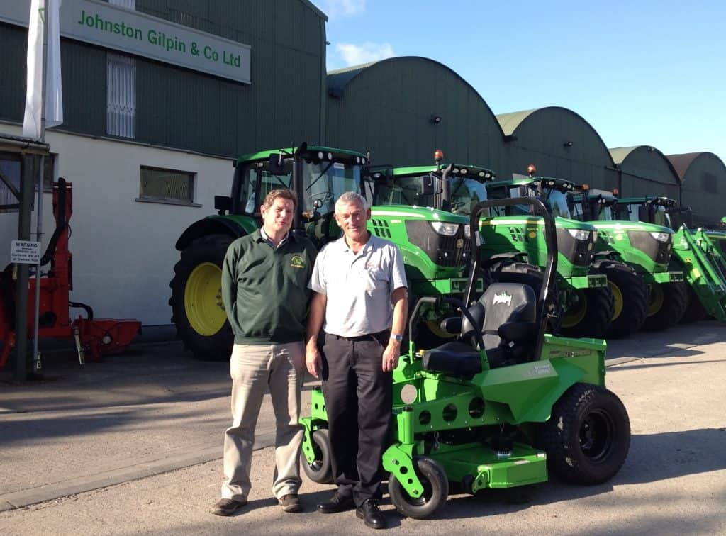Mean Green Mowers OVERTON APPOINT JOHNSTON GILPIN & CO FOR MEAN GREEN MOWERS